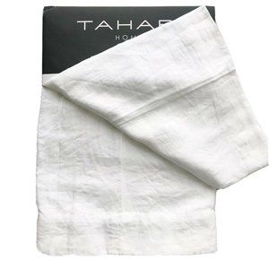 "Tahari Belgian Linen Window Panels Drapes 96"" long"